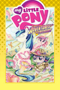 My Little Pony: Adventures in Friendship Volume 5 By Zahler, Thom -Hcover