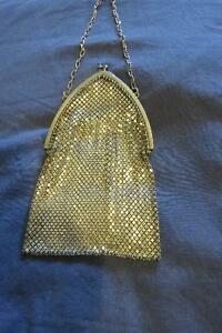 1920s Sterling Silver mesh purse.