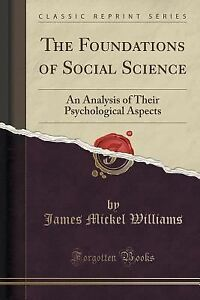 Psychology foundations of social science