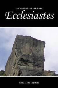 Ecclesiastes (KJV) by Sunlight Desktop Publishing -Paperback