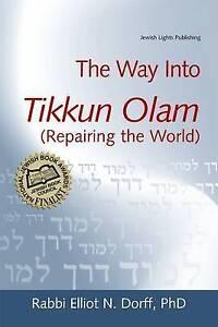 Way Into Tikkun Olam: Repairing the World,Rabbi Elliot N. Dorff,Excellent Book m
