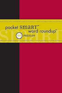 Pocket Smart Word Round Up, The Puzzle Society, New Book