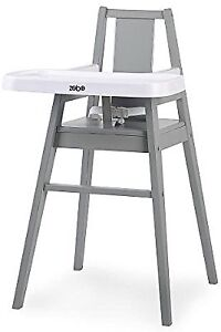 Modern wooden high chair. Stylish! New in box