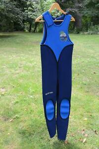 Men's Farmer John wetsuit - Medium