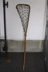 "Antique lacrosse stick ""Lally's Special"""