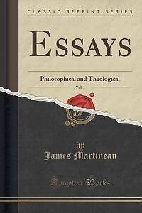 Essays philosophical and theological