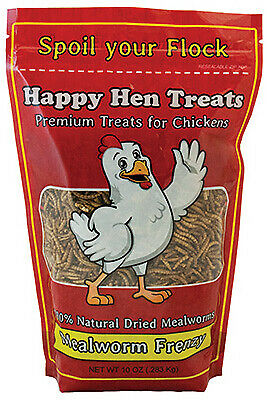 Poultry Treats Mealworm 10-oz.