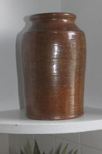 Pottery Crock / Jug for Kitchen Utensils / Floral Arrangements