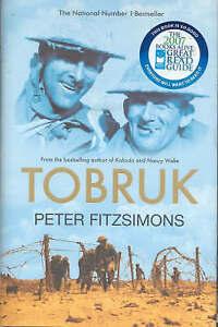 Tobruk by Peter FitzSimons (Hardback, 2006)    CB