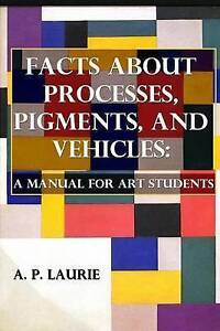 Facts about Processes Pigments Vehicles Manual for Art St by Laurie P -Paperback