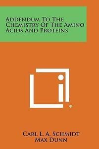 Addendum-to-the-Chemistry-of-the-Amino-Acids-and-Proteins-Paperback