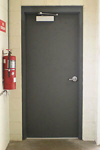 32x96 Fire rated, commercial grade, heavy duty,  metal door