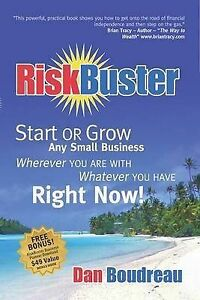 USED (LN) RiskBuster: Start or Grow Any Small Business Wherever You Are With Wha