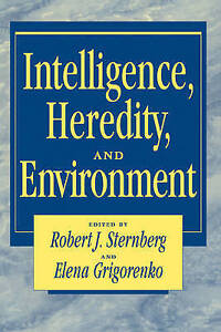 Intelligence, Heredity and Environment by Sternberg, Robert