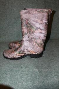 Camo Rubber Boots