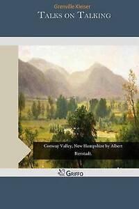 Talks on Talking by Kleiser, Grenville -Paperback