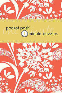 Pocket Posh One- Minute Puzzles, The Puzzle Society