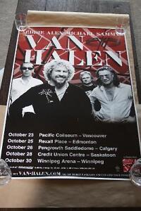 Van Halen Tour Poster Regina Regina Area image 1