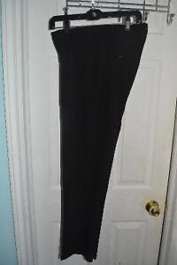 Calvin Klein men's dress pants. Black