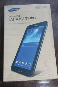 NEW SAMSUNG GALAXY TAB 3 LITE ( Black not White)