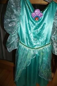 Ariel doll, dress, castle, books, puzzles, lego