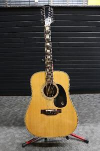 Epiphone FT-165 Bard De-Luxe 12-String Acoustic w/case - Used