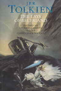 The-Lays-of-Beleriand-by-Christopher-Tolkien-Paperback-1993