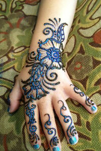Glitter Henna ,White Henna,Black Henna ,Colored Henna Available Kitchener / Waterloo Kitchener Area image 1