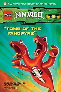 GREG-FARSHTEY-Lego-Ninjago-4-Tomb-of-the-Fangpyre-Graphic-Novel