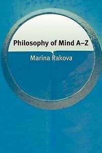 Rakova-Philosophy Of Mind A-Z  BOOK NEW