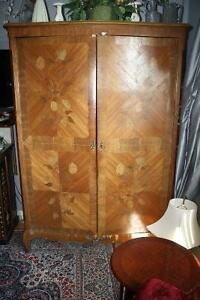 Beautiful Wooden Antique Armoire