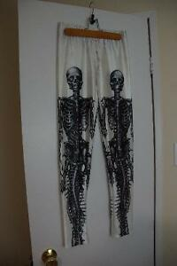 Skeleton leggings, brand new Kitchener / Waterloo Kitchener Area image 1