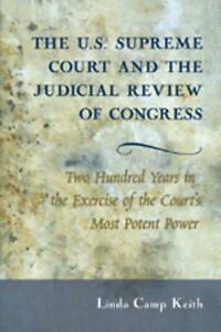 U.s. Supreme Court And The Judicial Review Of Congress Keith  Linda Camp 9780820