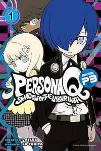 Persona-Q-Shadow-of-the-Labyrinth-Side-P3-Volume-2-by-Tobita-Sou-Paperback