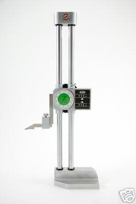 Out Of Stock 90 Days Precision Double Beam 12 Dial Height Gage Carbide .001