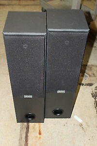 Sony Ss-mf400h 150 Watt Each Floor Standing Tower Speakers