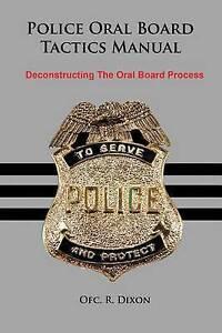 NEW Police Oral Board Tactics Manual: Deconstructing the Oral Board Process