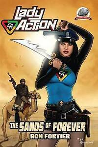 Lady Action: The Sands of Forever by Fortier, Ron -Paperback