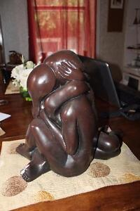 The Lovers Nude Embrace