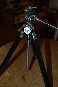 "VINTAGE ""TOWER""  MINI TRIPOD - HEAVY STEEL - MADE IN JAPAN"