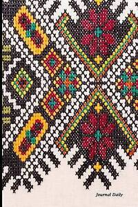 Journal Daily Southwestern Pattern Lined Blank Journal Book 6  by Journal Daily