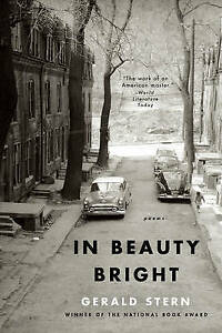 In Beauty Bright – Poems, Gerald Stern