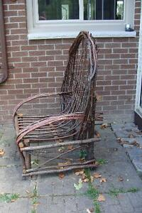 Handcrafted Willow Porch Chair Belleville Belleville Area image 3