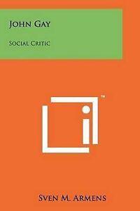 John-Gay-Social-Critic-Paperback