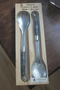 Stainless Salad Servers ( new ) Made in France