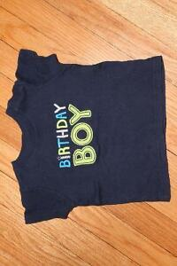 Carter's Birthday BOY T-Shirt (12 Month)