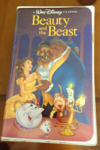Disney Beauty and the Beast VHS for sale