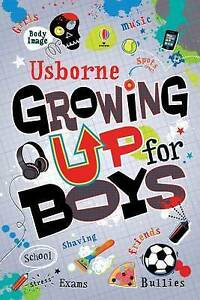 Growing Up For Boys Hard Back Alex Frith Usborne 9781474903233