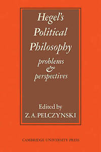 Hegel's Political Philosophy: Problems and Perspectives-ExLibrary