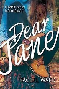 Dear Jane by Ward, Rachel -Paperback